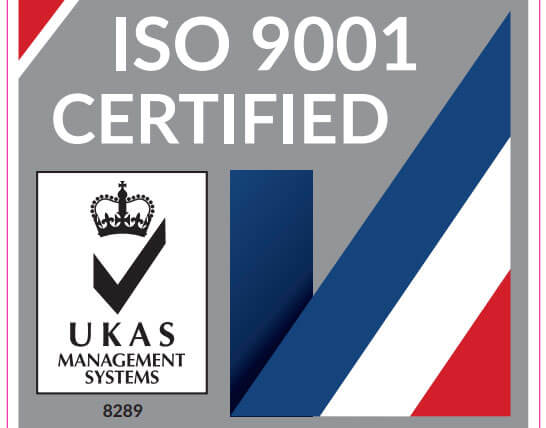 TiG ISO9001 certified